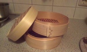 Bambusdämpfer